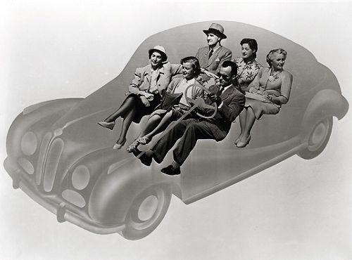 Geräumig und stilvoll: der BMW 501, ab 1952