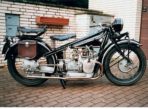 Vorkriegsmotorräder 1926 - 1928. R 42 - 494 ccm sv, 9 kW (12 PS)