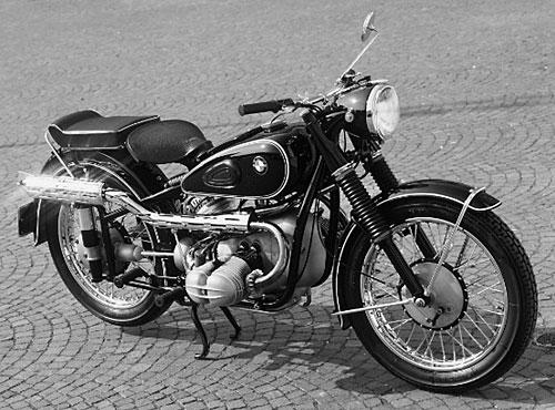 R 51/3 - 1950 - 1954, 494 ccm ohv, 18 kW (24 PS)