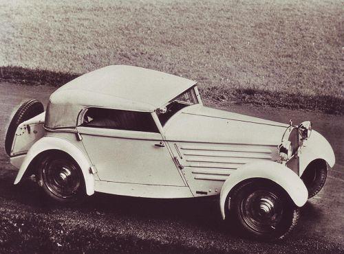BMW 3/20 PS AM 1, 3, 4; 4 Zyl-ohv 788 cm³ 15 kW (20PS)