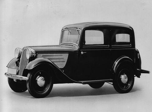 BMW 319, 1935 – 37 6-Zyl. ohv 1911 cm3 33 kW (45 PS)