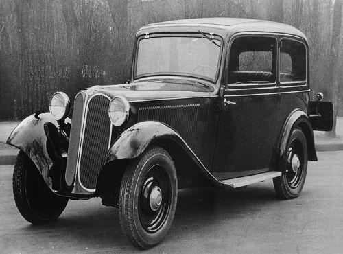 BMW 309, 1934 – 36 4-Zyl. ohv 845 cm3 16 kW (22 PS)