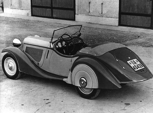 BMW 315/1, 1934 – 35 6-Zyl. ohv 1490 cm3 29 kW (40 PS)