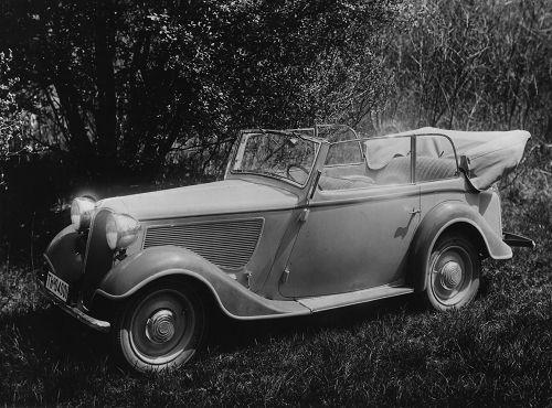 Viersitziges Cabriolet (mit 2 ltr. Motor ab 1935-36 als BMW 319, mit 1,5 ltr. Motor BMW 315)