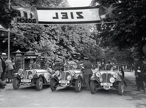 Start der 315/1 zur 2000 km ADAC-Reichsfahrt; Juli 1934