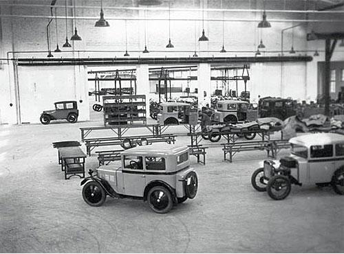 BMW 3/15 Produktionsanlauf bei Ambi Bud in Berlin