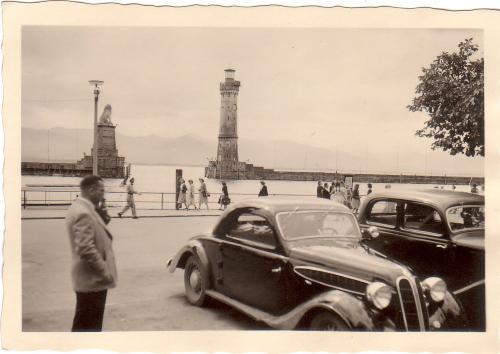 Nachkriegsumbau zum Coupe - Foto von Gerd Eisner