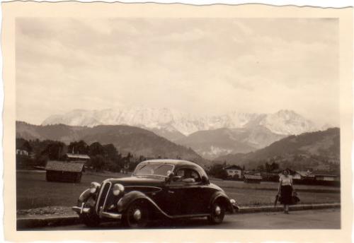 Nachkriegsumbau zum Coupe - Foto von Gerd Eisne