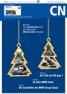 Club Nachrichten des BMW Club Mobile Classic e.V.
